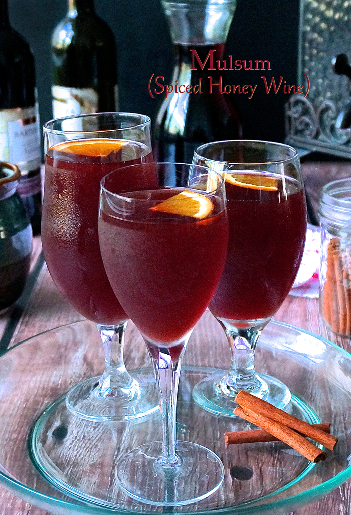 Mulsum - Spiced Honey Wine - raw wine beverage
