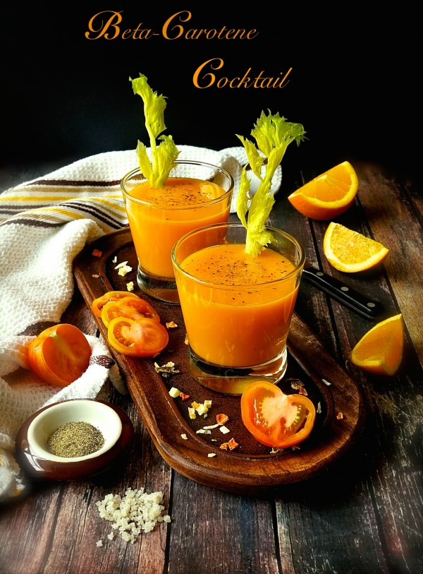 Beta Carotene Cocktail