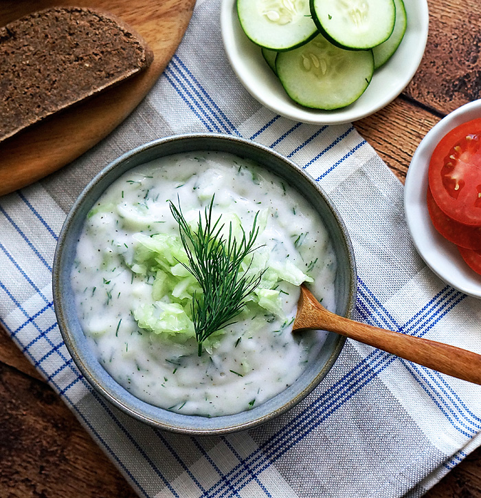 european-dark-rye-bread-with-cucumber-yogurt-dip-yogurt-image