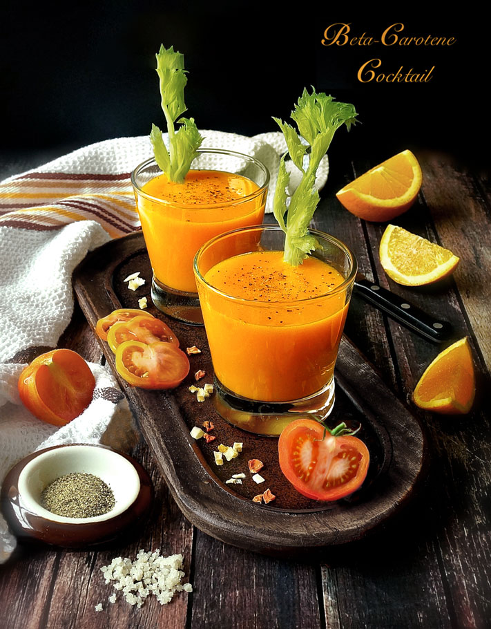 Beta-Carotene Cocktail