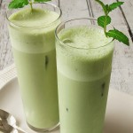 Iced Minty Matcha Green Tea Latte
