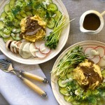 A Simple and Tasty Raw Polenta Lunch