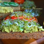 Olive Branch Bread with Cultured Pistachio Hummus