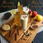Pau d'Arco Apple Spice Tea and Pau D'Arco Passion Latte