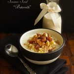 Maple Quinoa Breakfast Cereal with Sesame Seed Buttermilk