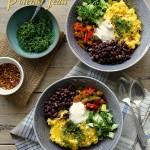 Savoring My Plants Cooked Polenta Feast