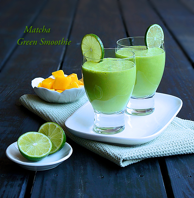 Matcha Green Smoothie